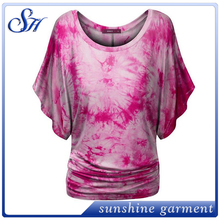 OEM Manufacturer High Qualit Tops Fashion Women Tunic Latest Designer