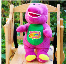 30cm High quality Hot sale New Manufacturers selling the dolls Barney benny purple dinosaur plush toys