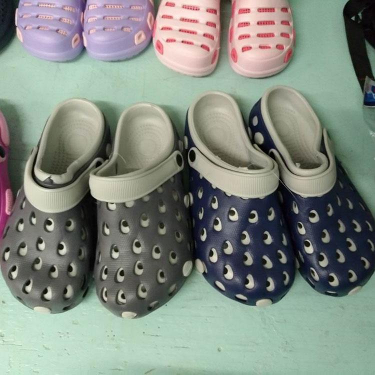 shoes stock men Plastic Outdoor Flat Recycle Cheap Wholesale men eva slipper