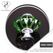 Novelty Green Glass Chest of Drawer Pull Knob