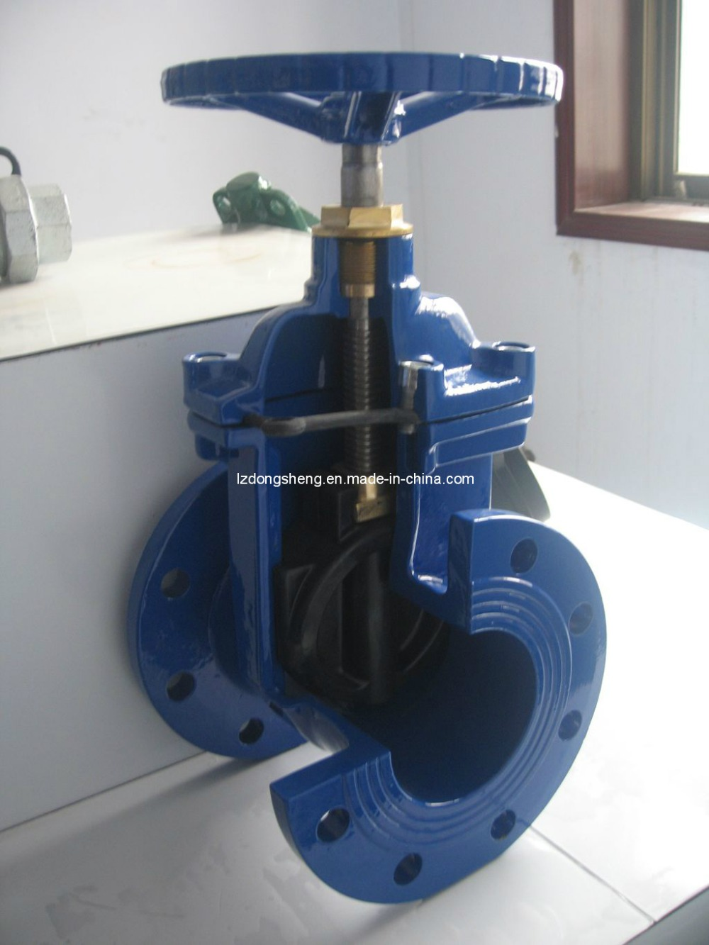 Din F4 Ductile Iron Water Pipe Stem Gate Valve - Buy Gate Valve,Cast Iron  Gate Valve,Gate Valve Product on Alibaba com