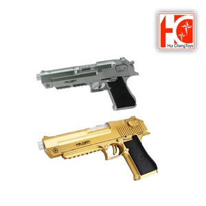 Hot selling safe electronic shooting toy gun with music and light