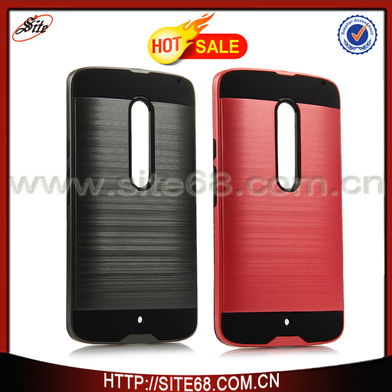 Wholesale Factory Price Slim Armor Case, For moto x play case, For moto x play cover