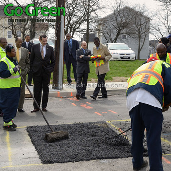 Go Green Superior Cold mix asphalt instant road repair materials