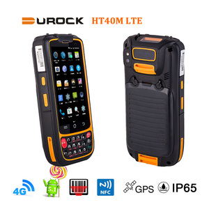 4 Inch Rugged Phone PDA QR Barcode Scanner Android 5.1 Rugged Handheld PDA Industrial Mobile Computer