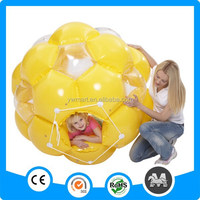 Promotional inflatable rolling ball for kids,inflatable loopy ball,body zorb ball