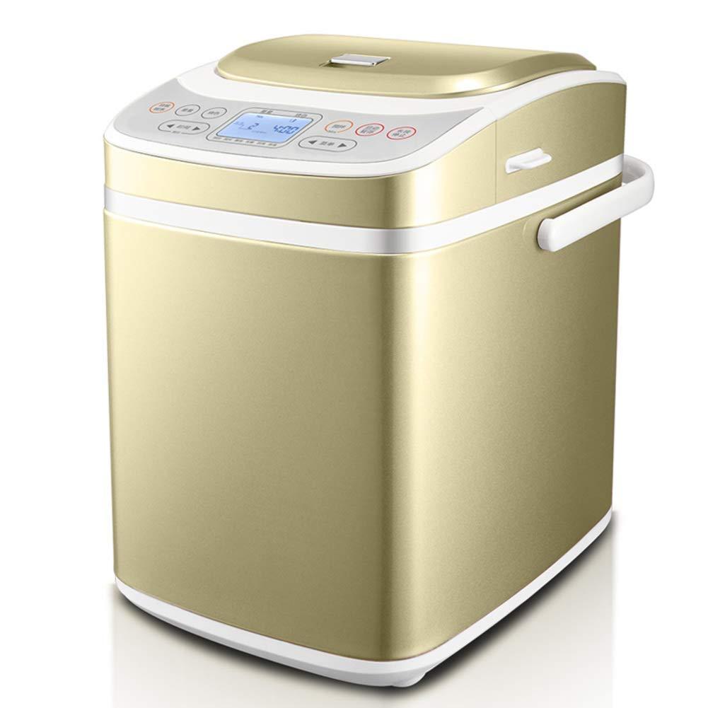 LJ-MBJ Bread Machine, Fully Automatic Breadmaker, Multifunction Intelligent Bread Baking Machine, Breakfast Break Maker, Floss Yogurt, Gluten Free Setting-A