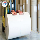 80gsm white copy paper jumbo rolls for cutting A4 copy paper