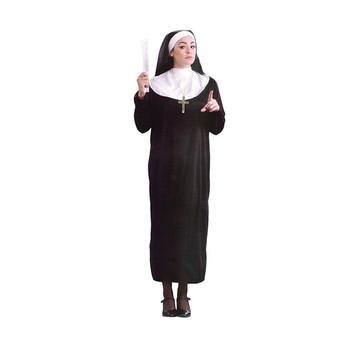 Nuevo Señoras Trajes Monja Traje Vestido De Lujo Traje Se1153 Buy Disfrazdisfraz De Monjadisfraces De Disfraces Product On Alibabacom