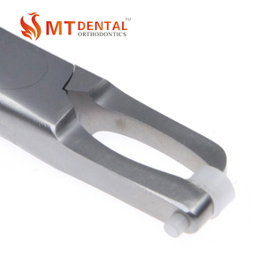Orthodontic dental band remover plier