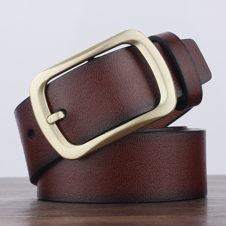 Cheap Price 2019 Hottest Women And Men Belt Leather Belts Skillful Manufacture Men's Belts