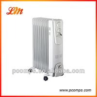 Electric Oil Warmer Radiator With 24 Hour Timer