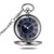 Diameter 45mm blue roman dial automatic pocket watch mechanical pocket watch Victoria watches
