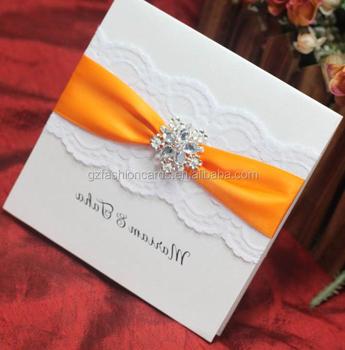 Luxury Lace Handmade Wedding Invitation Card Designs, View ...
