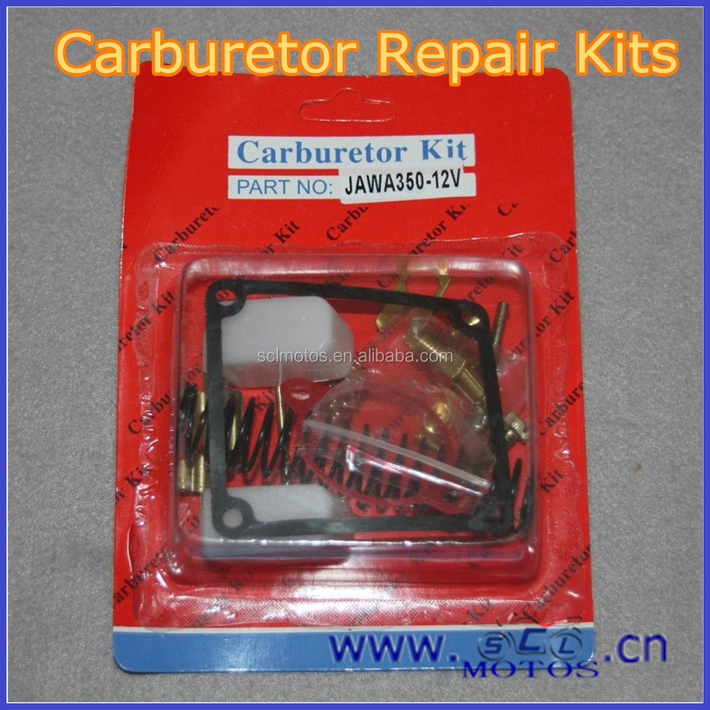 SCL-2014070121 Carburetor Repair Kit With Floater For 12V JAWA 350