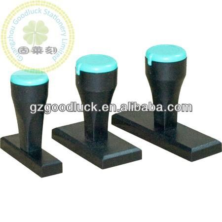 Premium Quality Rubber Material Stamp Plastic Handle