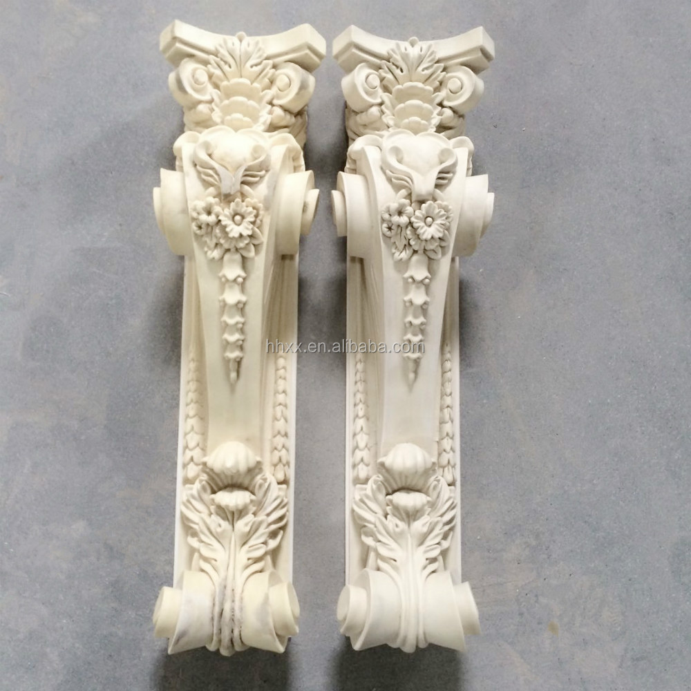 PU architectural material interior decorative wall corbel