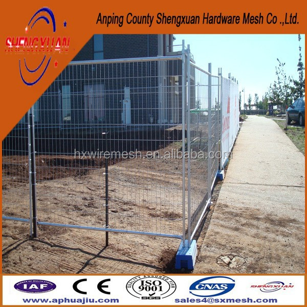 Low price temporary wire mesh fence with superior quality Heras style /coupler /coupling /clamp /clip