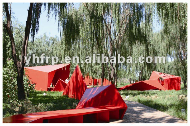 grp decorative landscape product in garden