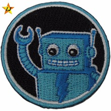 Clothing Embroidered Badge 3D safety buckle eco-friendly custom patch