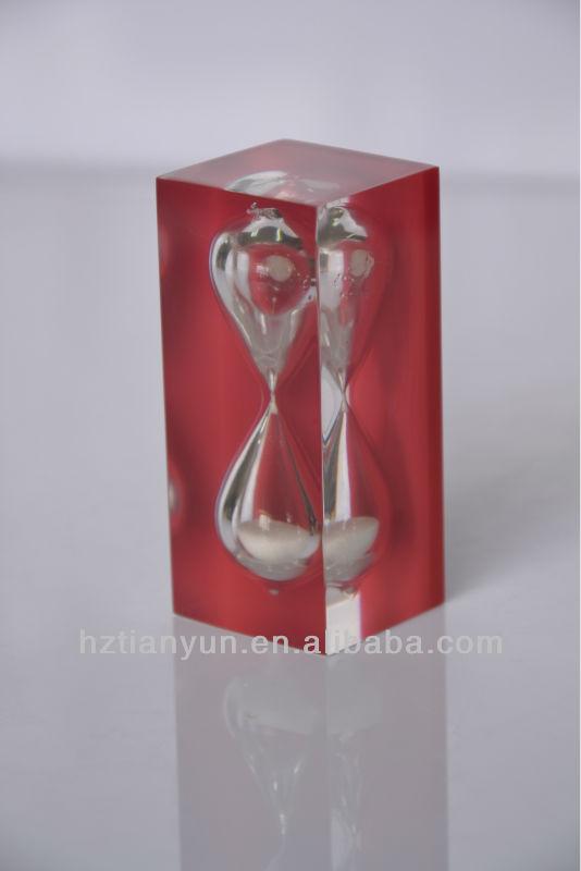 Red Sand Hourglass/kids Sand Timer & Hourglass/colorful Sand ...