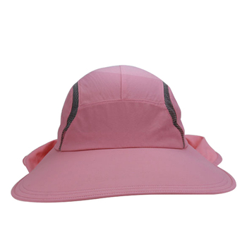 12dded77a7c Outdoor Fishing Cap Women Sun Protection Hat With Neck Cover ...