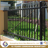 Powder Coated Simple Cheap fence panels used wrought iron fencing for sale