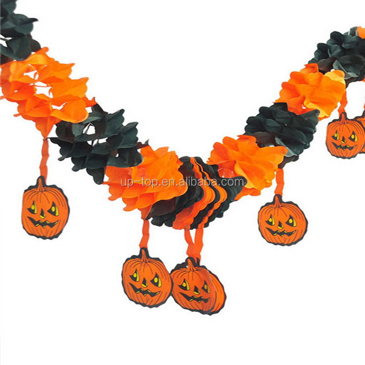Factory supply good brand mini halloween paper lantern decorations