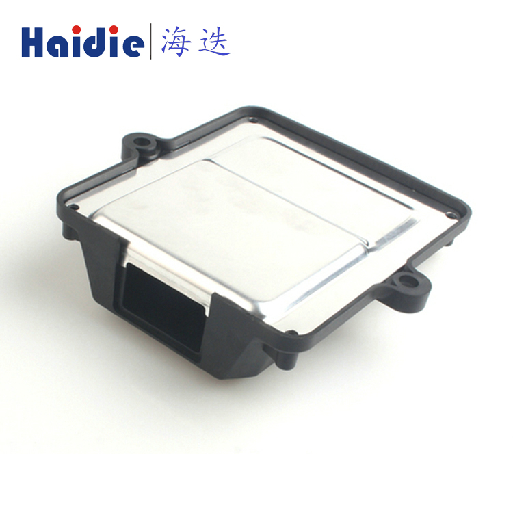 Haidie ECU PCB Aluminum Enclosure Waterproof Industrial Wire Electrical Automotive Female Male ATX 24 Pin Connector