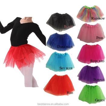 07c0d3b6ba2c Bestdance Girls Ballet Dance Tutu Belly Tutu Dress Color Party Kids ...
