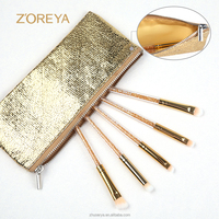 Free Sample Makeup Brushes/Crystal Handle MakeupBrush Set/Custom Logo Make Up Brushes