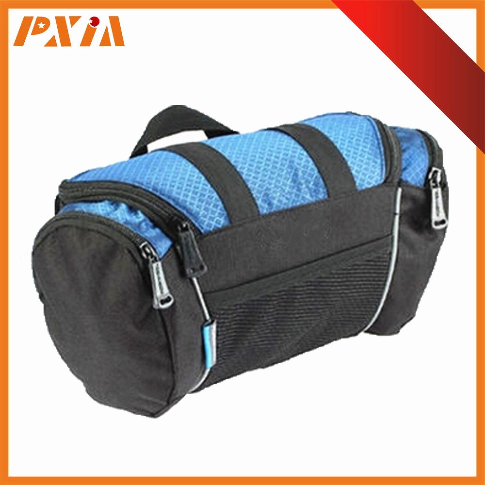 New Cycling Bicycle Bike Bag Top Tube Two Package Bag Front Saddle Frame Pouch Outdoor