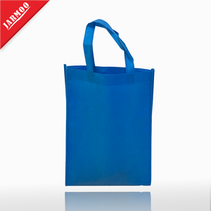 Blue Color Cheap Custom Quality Shopping Bag Eco For Advertising