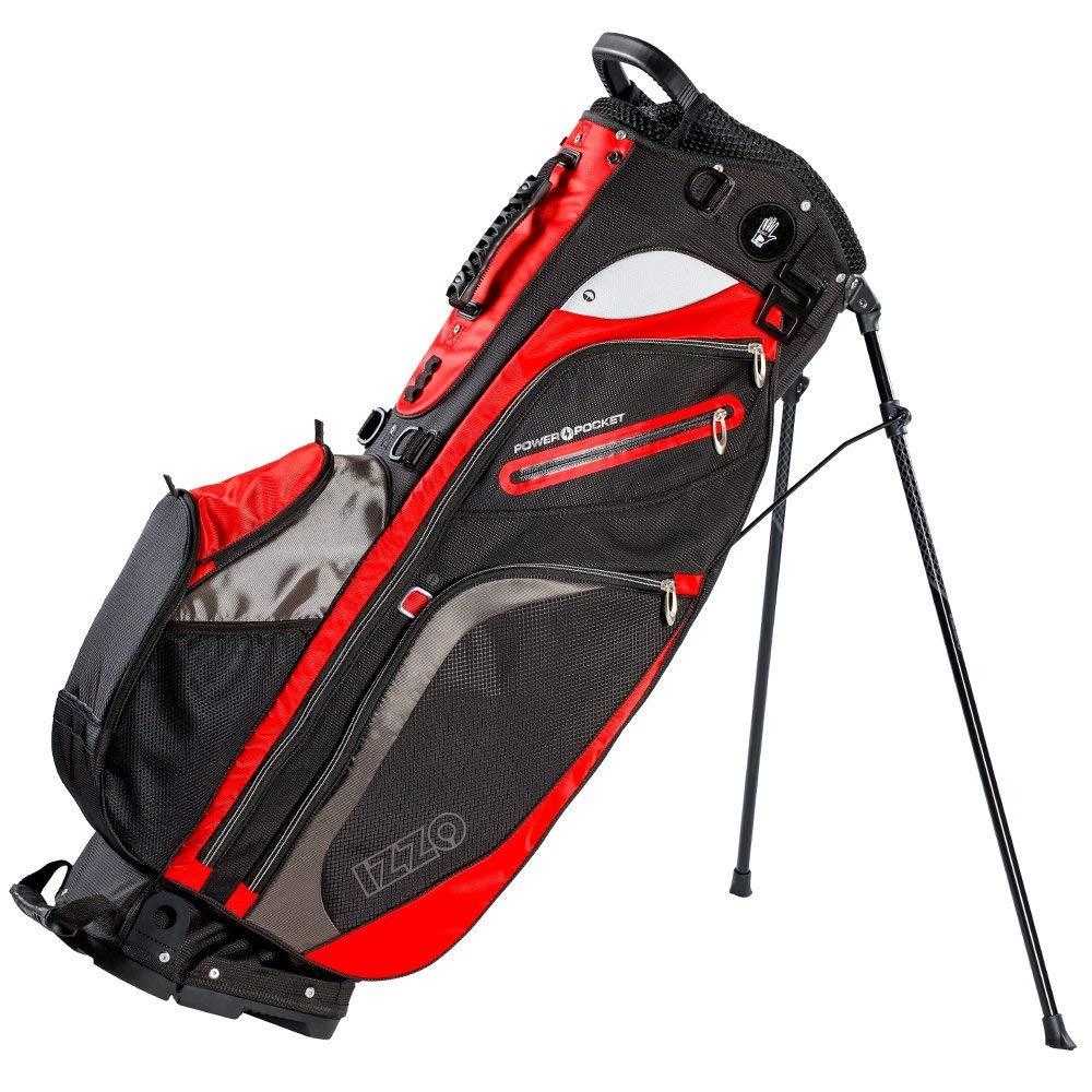 Get Quotations · IZZO Versa Stand Golf Bag - Black c82459469e643