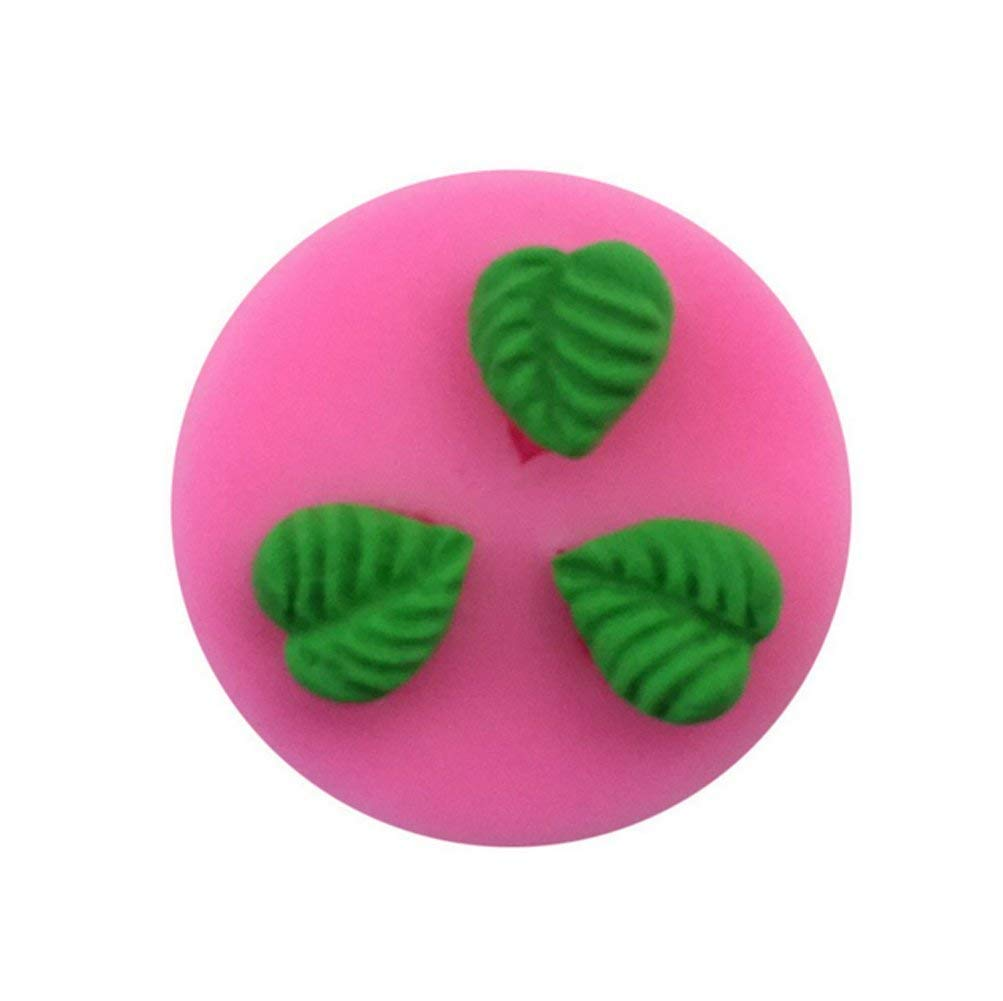 Neaer Decorative Pattern Leaves DIY Cake Mold Sugar Silicone Mold Liquid Silicone Mold For Kitchen