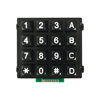 High quality industrial zinc alloy keypad 4x4 LED illuminated keypad