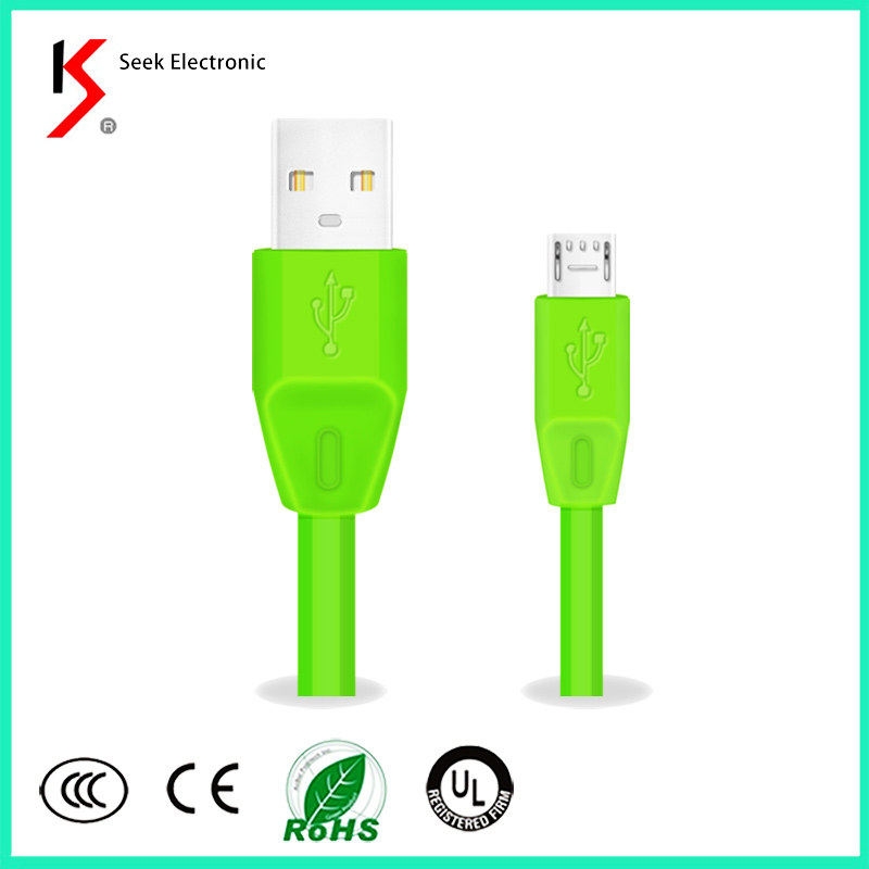 Factory hot sale USB cable for charging and transfaring 2 in 1