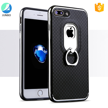 2017 trending products smart rotating ring figner holder phone case for iphone 7 plus
