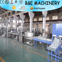 Automatic spring/mineral water washing filling capping 3-in-1 machine/line/bottle water making machine