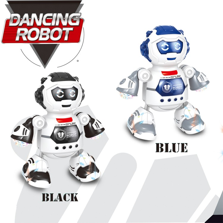 2020 Electronic dancing Robot Smart Space Music Light toy for kids