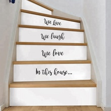 Office&Home Stairs Decoration Self-adhesive PVC Whiteboard Sticker