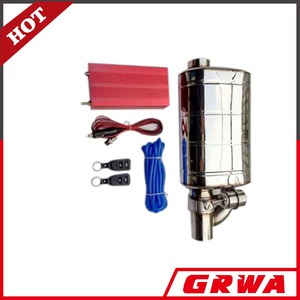 GRWA exhaust muffler and exhaust valve with remote control