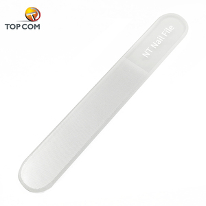 TOPCOM shiner manicure crystal nano glass nail buffer