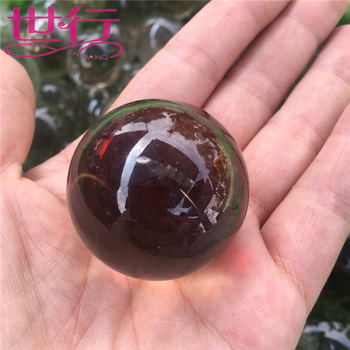 High quality clear smoky quartz crystal ball for sale