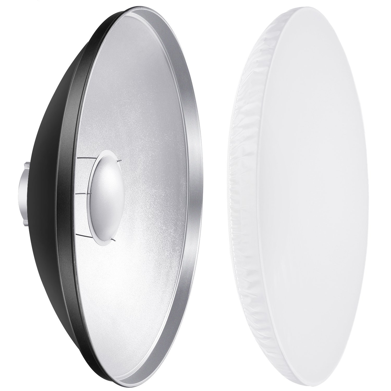 Yongnuo External On-Camera Shoe-Mounted Flash Units Pentax Canon Sony Panasonic Lumix RoundFlash Beauty Dish Collapsible Softbox for Nikon Olympus Neewer