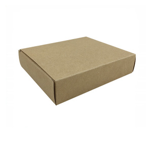 Wholesale brown box packaging kraft paper