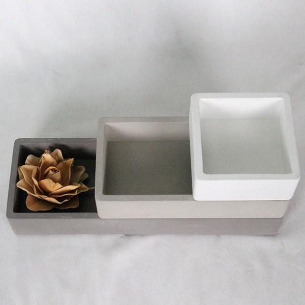 Elegant Concrete Kitchen Canister For Oil,Vinegar,Peper