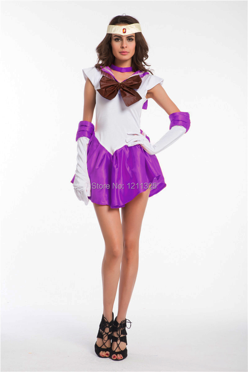 get quotations free shipping real photo new anime pretty sailor moon cosplay costume dress sexy halloween costumes
