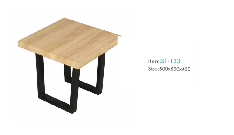 Modern Outlook Wooden Side Table Square Tea Table Teapoy ...