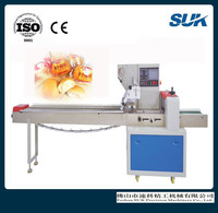 Cake Cookies Biscuit Bread Flow Packing Machine price